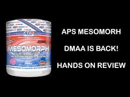 aps mesomorph review you
