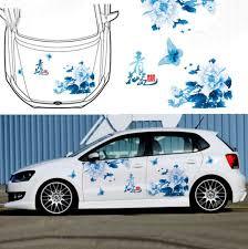 Graphics Vinyl Flower Butterfly Car Sticker Hood Decal For Ford Focus Honda Fit For Sale Online Ebay