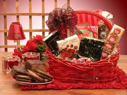 valentines chocolates gift basket