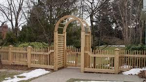 Garden Structures Fences Gates Pergolas Three C S Landscaping