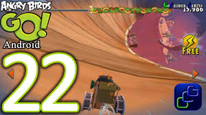 Angry Birds GO Android Walkthrough - Part 22 - STUNT: Track 2 ...