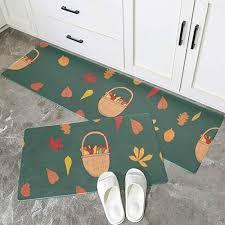 jincaii floor mats for kitchen basket