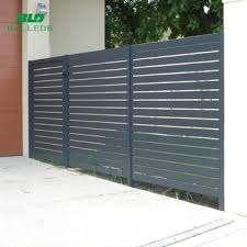 Horizontal Metal Aluminium Slat Fence Gates Panels For Balcony View Gates Panels Bld Product Details From Ballede Shanghai Metal Products Co Ltd On Alibaba Com