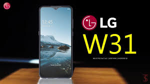 LG W31 First Front Look, Design, Key ...
