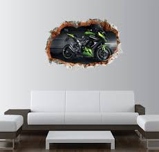 Gadgets Wrap Printed Kawasaki Smashed Wall Decal 22x15 Inch Price In India Buy Gadgets Wrap Printed Kawasaki Smashed Wall Decal 22x15 Inch Online At Flipkart Com