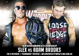 Slex vs Adam Brooks for the IC Title announced : MCWrestling