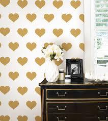 Gold Wall Decals Heart Hobby Lobby Peel And Stick Design Australia Star Uk Large Vamosrayos