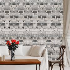 brick wallpaper self adhesive decal