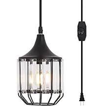 ylong zs hanging lamps swag lights plug
