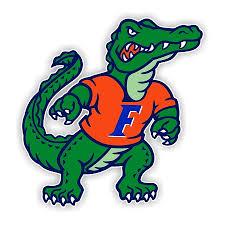 Florida Gators Mascot B Die Cut Decal 4 Sizes 3716