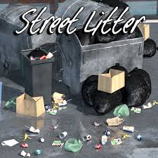 Everyday items, Street litter 3D Models 2nd_World