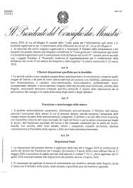 Il premier Conte e i dettagli della Fase 2: le misure fino al 18 ...