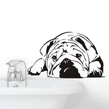 Bulldog Pet Car Auto Window Decal Sticker X1 In White All Colours Wall Art Bed Archives Statelegals Staradvertiser Com