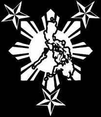 Philippine Island With Sun Star Custom Car Decal Sticker 10 X 12 Ebay