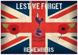 Lest We Forget Tottenham Hotspur F C Remembers Self Adhesive Vinyl Decal Sticker In Various Sizes