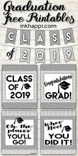 graduation printables and encouraging thoughts for the grad