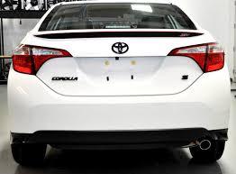 Toyota Corolla S Xsp Rear Spoiler Decal Shinegraffix Com