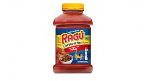 recalled ragu pasta sauce may be