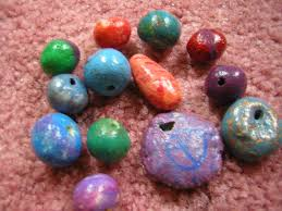homemade clay beads how to make a