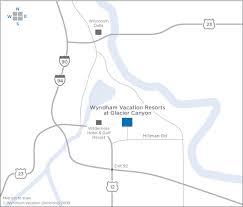 wyndham trips wele center maps
