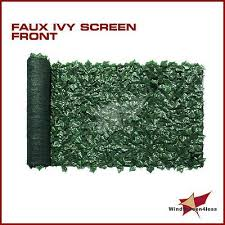 72 H Artificial Faux Ivy Leaf Privacy Fence Screen Decor Panels Outdoor Hedge Privacy Fence Screen Fence Screening Backyard Privacy Screen