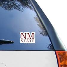 New Mexico State Aggies Car Decals Aggies Bumper Stickers Decals Fanatics
