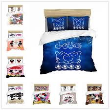 disney minnie mickey bedding set