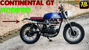 top 10 royal enfield continental gt
