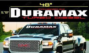 For Duramax Gmc Chevy Windshield Vinyl Decal Sticker Duramax Car Truck Window Aliexpress