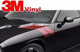 Dodge Challenger Rt Hood Fender Stripes Graphics Vinyl Decal Hemi 2008 2020 36 89 Picclick