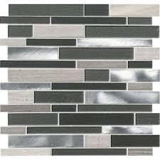 gray tile backsplashes tile the