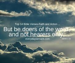 Top 14 Bible Verses-Faith and Action - Everyday Servant