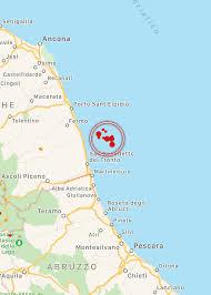 Terremoto, scosse tra Marche e Abruzzo: paura e scuole chiuse a ...