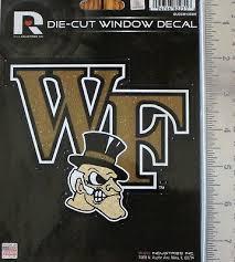 Wake Forest University Demon Deacons Die Cut Window Decal College Sticker Ncaa 7 99 Picclick