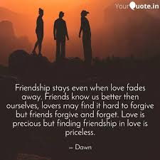 friendship stays even whe quotes writings by damy yourquote