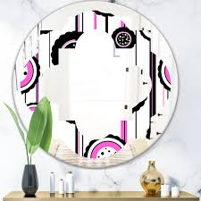East Urban Home Quatrefoil I Modern Wall Mirror Wayfair