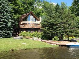 luxury lakefront pocono retreat lake