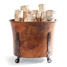 decorative ideas for firewood storage