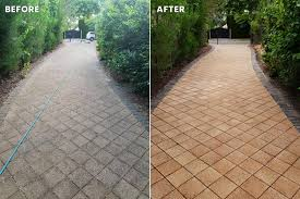 patio and paved surface cleaning
