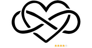 Amazon Com Love Forever Heart Infinity Symbol Vinyl Decal Sticker Bumper Car Truck Window 6 Wide Gloss White Color Home Kitchen