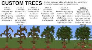 Custom Trees Minecraft
