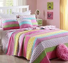 hnnsi cotton kids girls summer quilt