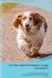 clumber spaniel presents by doggy