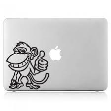 Monkey Laptop Macbook Vinyl Decal Sticker