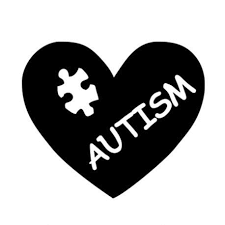 Autism Heart Puzzle Car Decal Different Not Less
