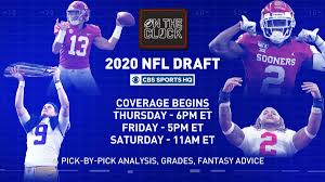 2020 NFL Draft on CBS Sports HQ: How to ...
