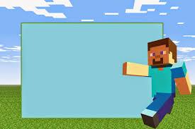 Minecraft Free Printable Invitations Con Imagenes