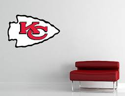Home Garden Kansas City Chiefs Nfl Wall Decal Vinyl Sticker Art Football Extra Large L52 Decor Decals Stickers Vinyl Art