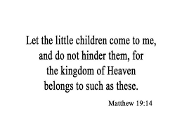 Vwaq Let The Little Children Come To Me And Do Not Hinder Them Matthew 19 14 Wall Decal Bible Christian Vinyl Wall Art Quote Decor Home Decor By Vwaq Newegg Com
