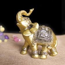 elephant figurines statue decorative